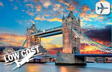 Viaje de 4 días a Londres con salidas desde Madrid y Barcelona en