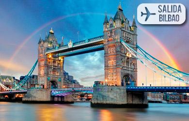 Viaje de 4 días a Londres con vuelos desde Bilbao, hoteles con de