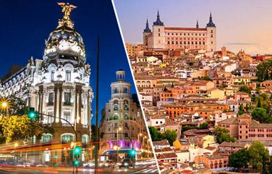 Circuito en autobús de 5 días a Madrid y Toledo