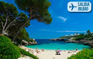 Viaje de 8 días a Mallorca con vuelos desde Vitoria, hotel en rég