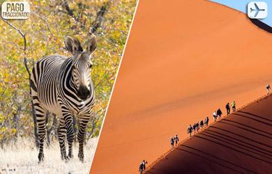Viaje de 10 días a Namibia desde Madrid y Barcelona