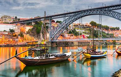 Viaje de 4 días a Oporto con salidas desde Madrid y Barcelona en