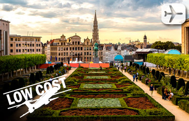 Viaje de 5 días a París y Bruselas