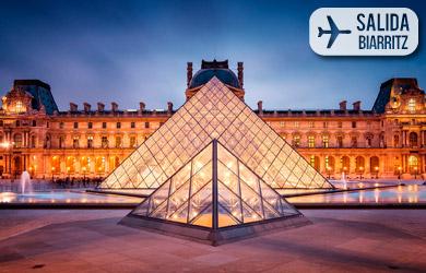 Estancia de 5 días con vuelo directo desde Biarritz, hotel con de