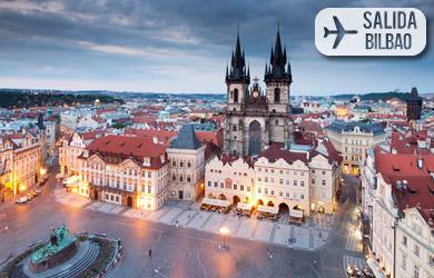 Viaje de 4 días con vuelos desde Pamplona, hotel 3* en  alojamien