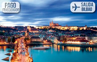 Viaje de 6 días a Praga y Viena en hotel con desayuno, billete de