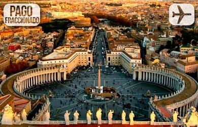 Viaje de 4 días a Roma con salidas desde Madrid y Barcelona en ho