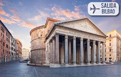 Viaje de 3,4 o 5 días a Roma desde Bilbao, hoteles 3* con desayun