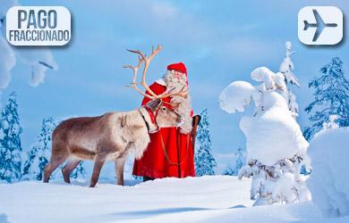 Viaje de 5 días en Navidad a Rovaniemi con vuelos desde Madrid y