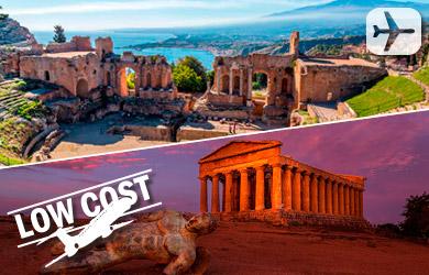 Viaje Sicilia durante 8 días con vuelos, coche alquiler, estancia