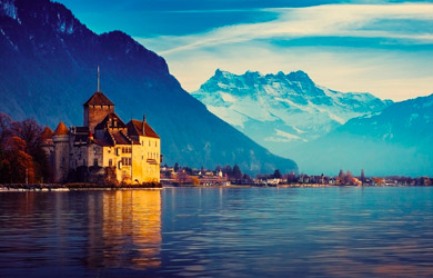 Circuito en autoºbús de 7 días a Suiza, Alpes y Lagos en Agosto