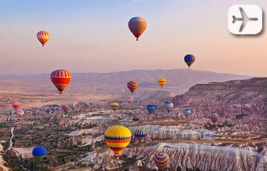 Viaje de 9 días con vuelo desde Madrid y Barcelona a Turquía