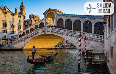 Viaje de  6 días con vuelos directos desde Bilbao, hotel 3* con d