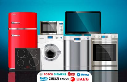 Pequeños y grandes electrodomésticos
